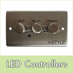 Controllers for LED lights