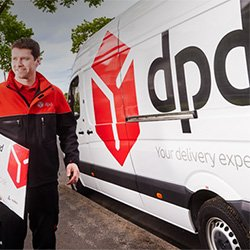 Next-day delivery provided by DPD