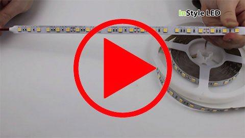 15-watt white tape setup