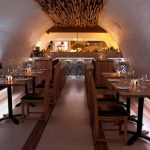La Perla Restaurant - subtle warm-white LED lighting