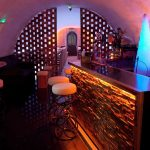 Inviting atmosphere inLa Perla's bar area