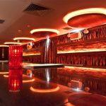 Laska Bar feature LEDs