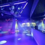 Sence dancefloor lit by InStyle LEDs