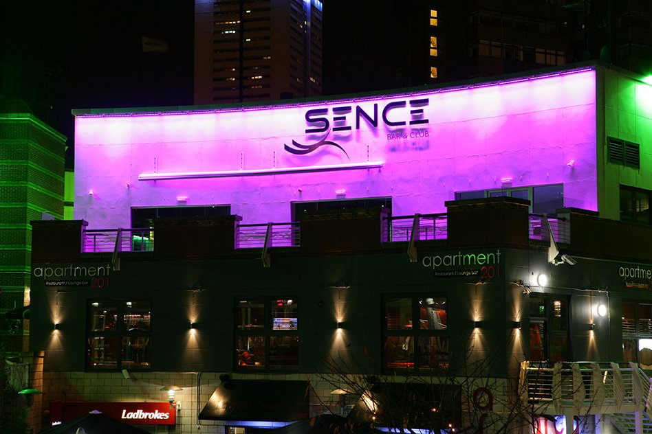 Sence Bar Amp Nightclub In The Arcadian Birmingham Instyle Led
