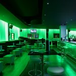 Sense bar area: 2 LED zones - green lighting