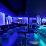 Sense bar area: 2 LED zones - shades of blue lighting