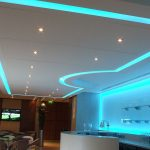 Machester City FC Directors Lounge - sky-blue LEDs