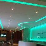 Machester City FC Directors Lounge - green LEDs
