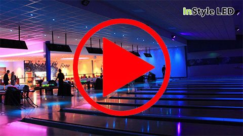 Bowling venue lights