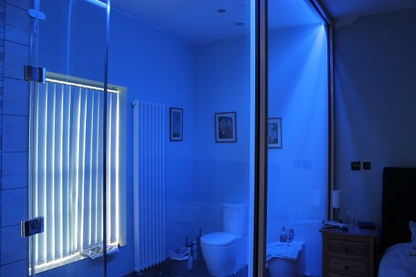 Ideas for using instyle 39 s led strip lights in your home for Bathroom led strip lights