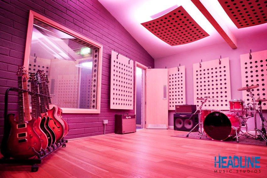 Headline Music Studio Installs Led Lights By Instyle