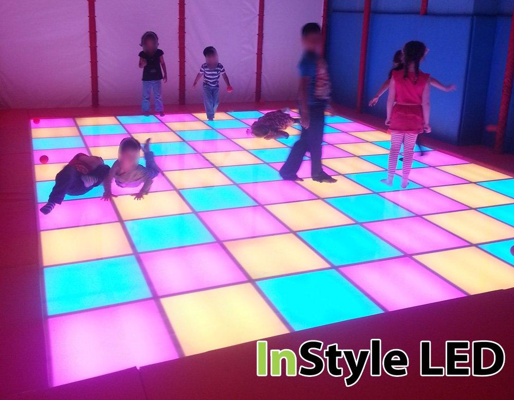 Children S Led Dance Floor Rgb Lights Change In Time