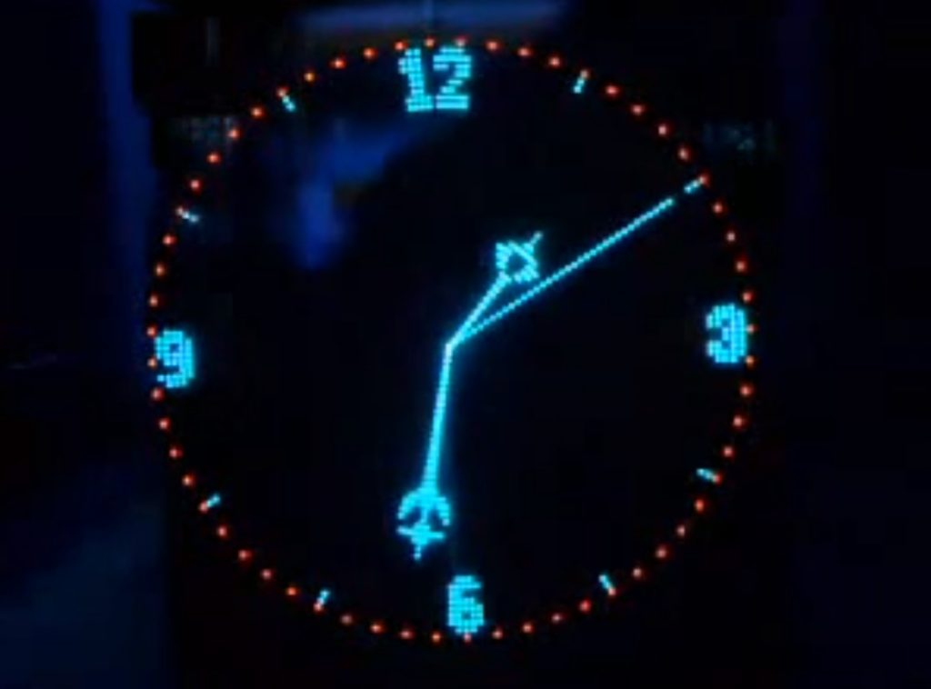 Pov Led Clock