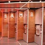 Samba Swirl yoghurt dispenser - bronze LED palette
