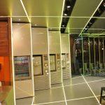 Samba Swirl machines - lime LED palette
