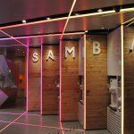 Samba Swirl yoghurt dispenser - LED lighting sequence