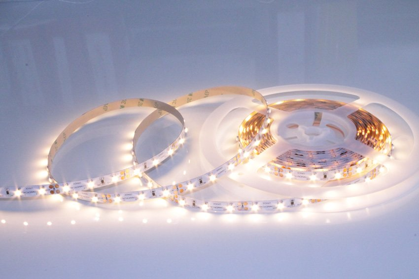 5 Watt White Led Tape Warm Or Pure Using 3528 Smd
