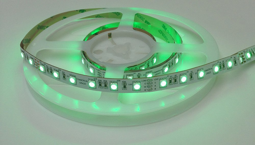 Rgb led strip lights rgbw led tapes also in stock rgbw and rgb led strips on standard reels 5m 10m and then cut your strip lights to the lengths you require yourself by using solderless connectors aloadofball Images