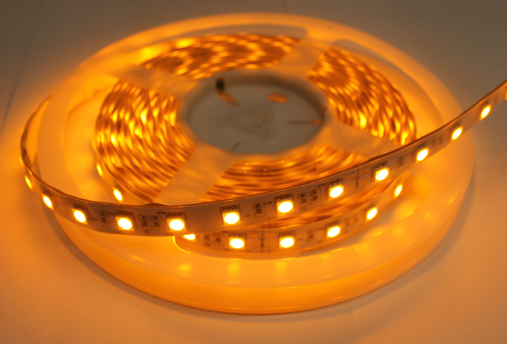 15 Watt Colour Led Tape  Green  Blue  Amber  5050 Smd