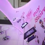 LEDs used in exhibition-stand display