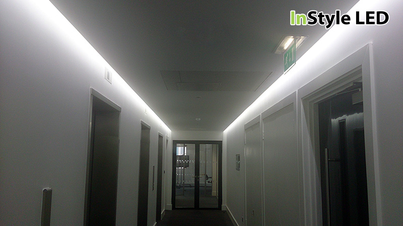 Instyle Led Tape Installed In Uk Commercial Office Building