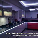 Cool white light from RGB LEDs