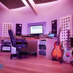 Recording studio LEDs