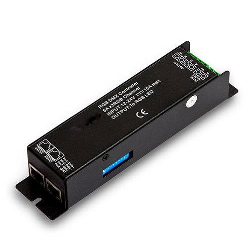 3-channel DMX 512 receiver