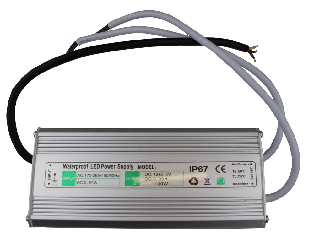 12v  24v 100 Watt Ip Transformer For Instyle Led Tape