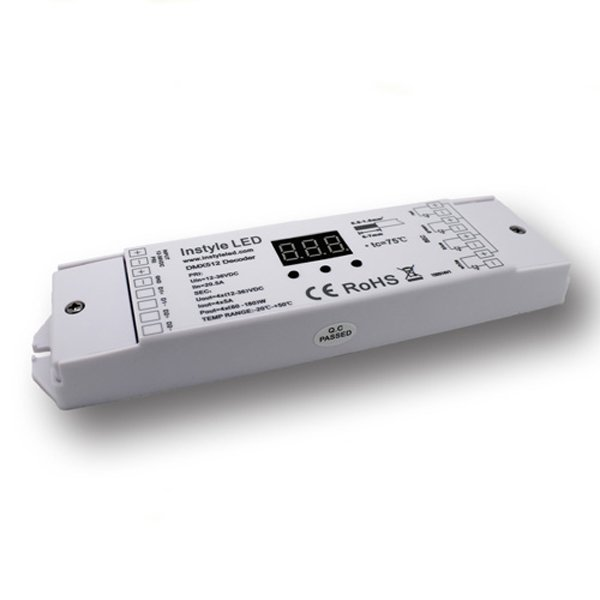 DMX decoder for LEDs