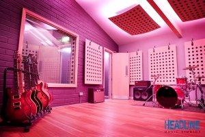 Headline Studios LED tape installation