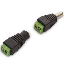 DC Push Connectors for LED tapes