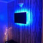single-colour LEDs create ambience