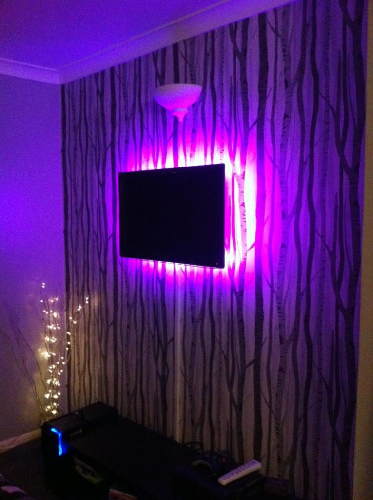 Light up your tv using rgb led strips instyle led light up your tv using rgb led strips aloadofball