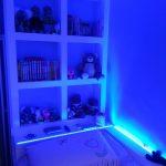 Blue bedroom RGB LEDs