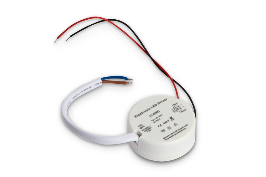 Compact power supply for LED dimmers / LED controllers