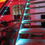 RGB LEDs on stairs - detail 2