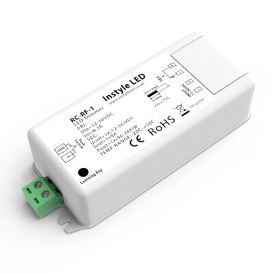 Single-channel wireless receiver for LED strip lights