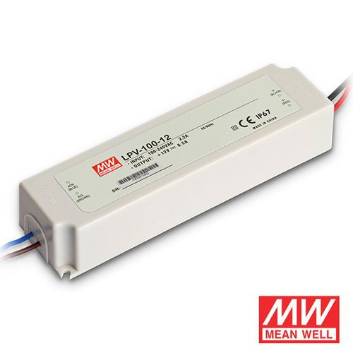 100 Watt Mean Well Transformer for LED Tape