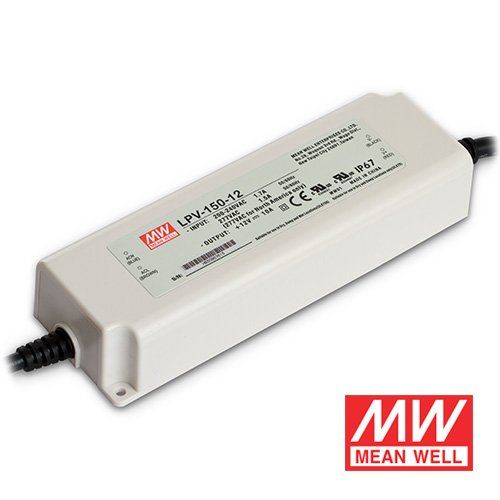 150 Watt Mean Well Power Supply for LED Strip Lights