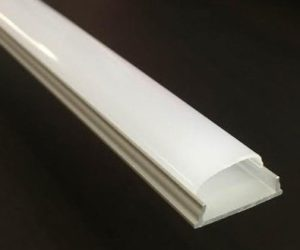 Bendable aluminium LED tape extrusion