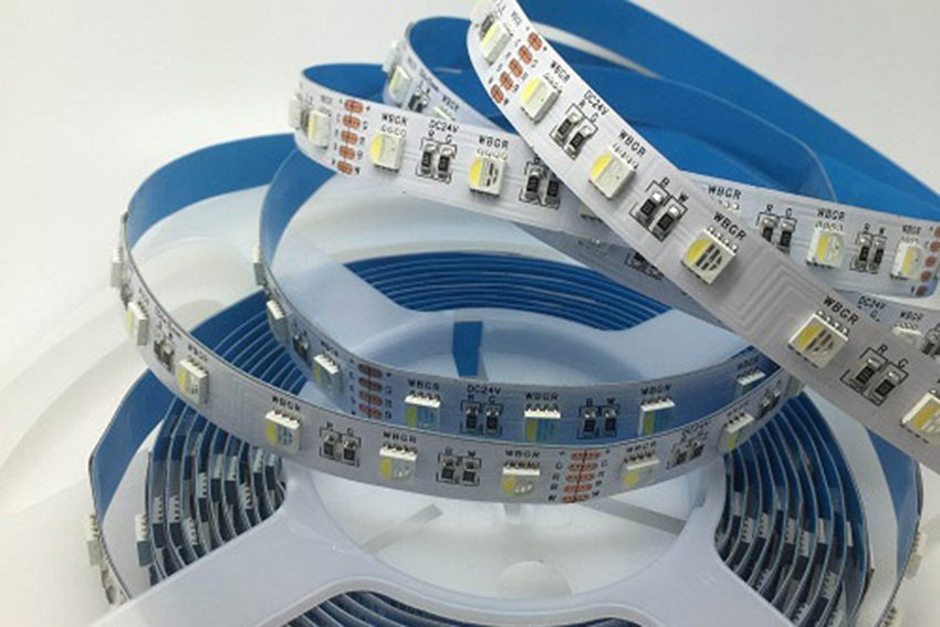 Can I bend my LED tape? Curved surfaces & lateral flexibility