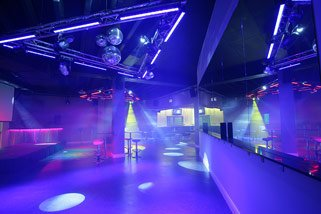 Dance floor dimmable LED lights