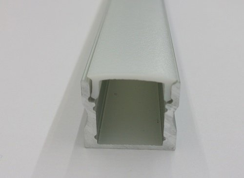 LED extrusion viewed end-on