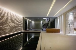 LED tape in swimming pool