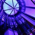 Purple interior LEDs