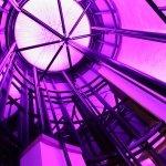 Lilac interior LEDs