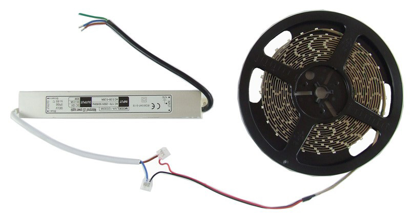 How to power LED tape - how much tape will my power supply drive?