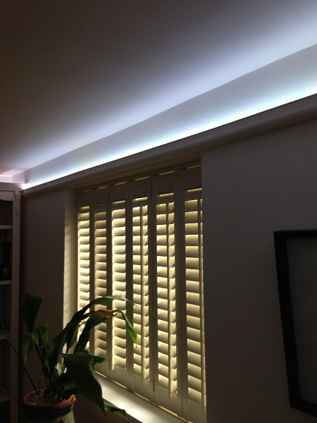 What is feature lighting how to highlight using led strips our positioning led lights support page has more info on the best way to fit your coving leds mozeypictures Image collections