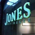 LED signage - Jones Bootmaker